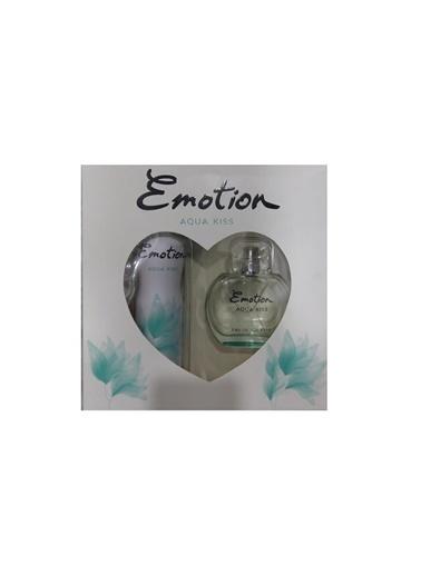 Emotion  Aqua Kiss Edt 50Ml+Deo150Ml Kadın Parfüm Set Renksiz